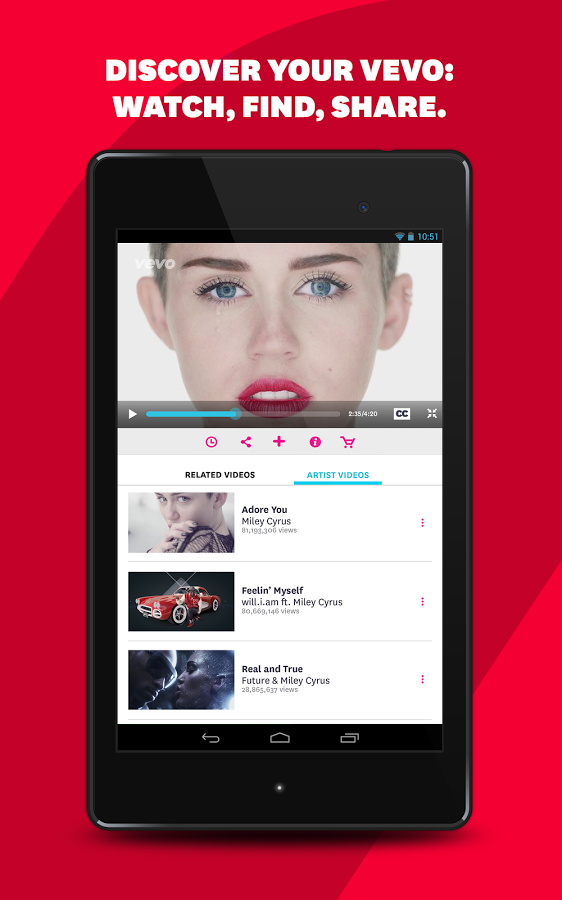 Vevo Downloader For Android: Watch HD Music Videos » Apk Thing