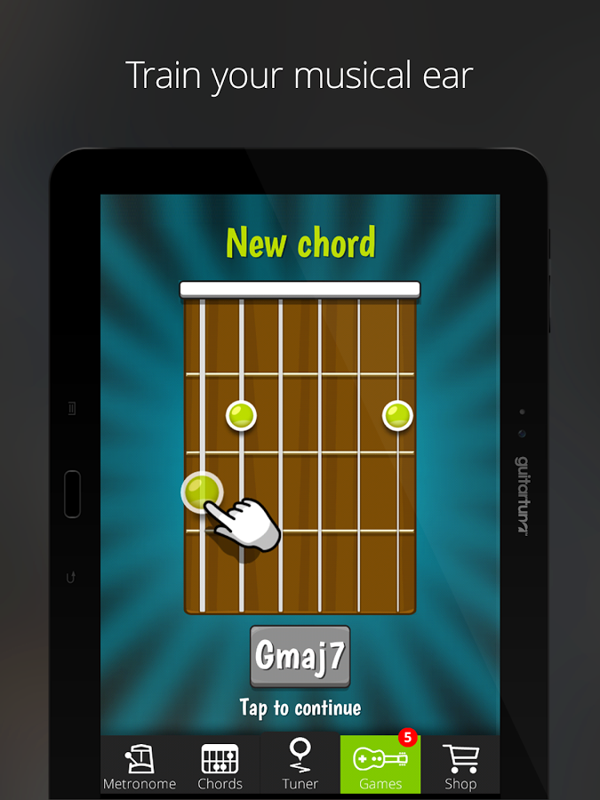 Free Online Guitar Tuner @ blogger.com