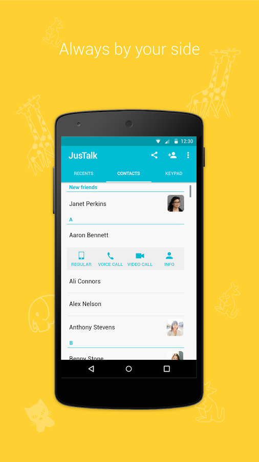 Justalk Free Video Call Chat Apk Thing Android Apps