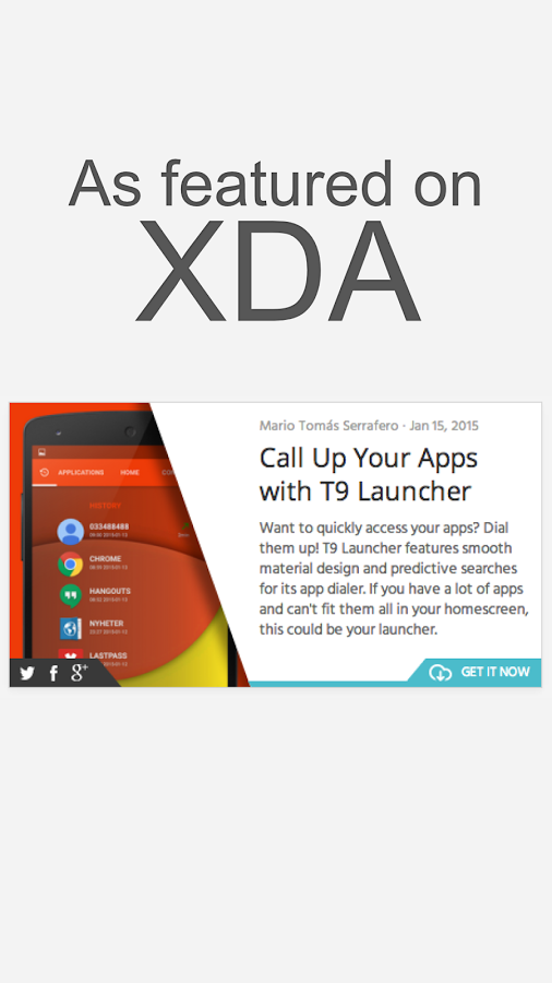T9 Launcher » Apk Thing - Android Apps Free Download