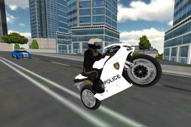 Police Moto Bike Simulator 3D