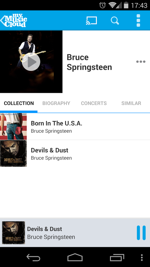 My Music Cloud: Storage & Sync » Apk Thing - Android Apps Free Download
