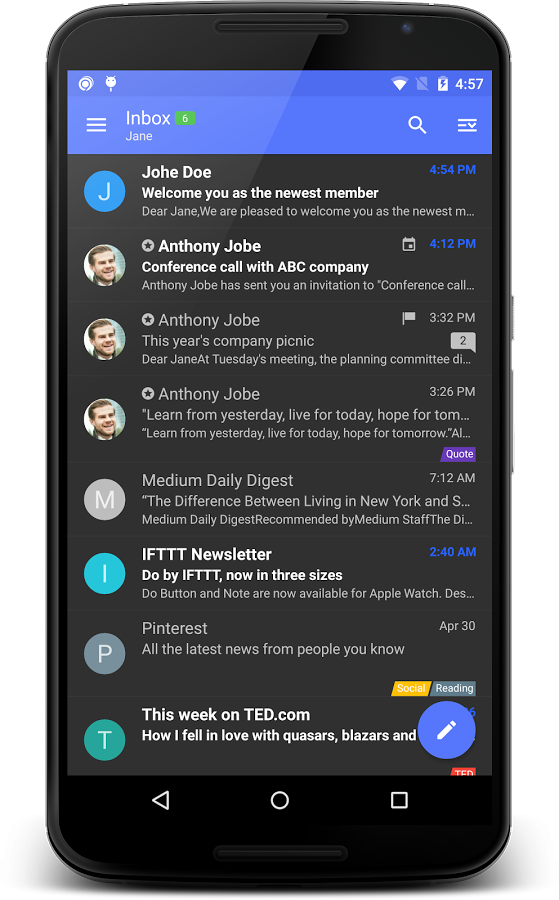 Nine - Exchange Outlook Mail » Apk Thing - Android Apps Free