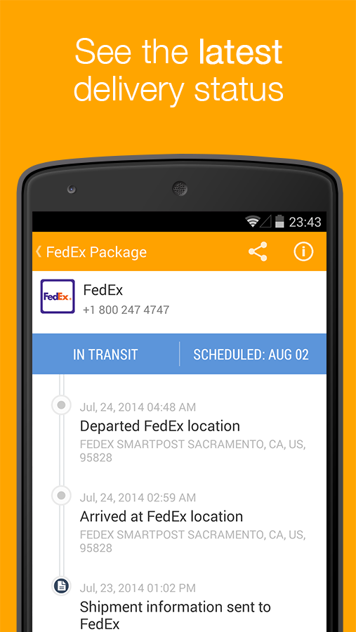 Aftership Package Tracker Apk Thing Android Apps Free