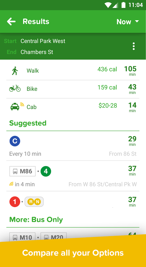 citymapper real time transit