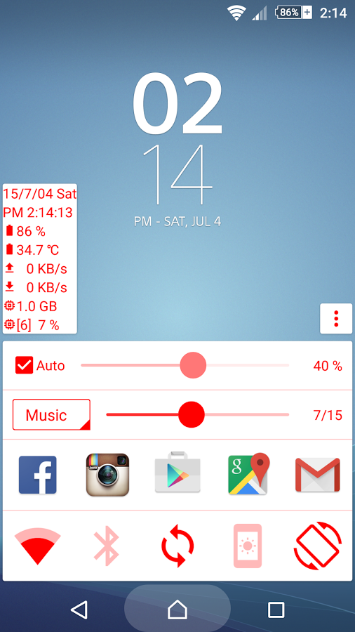 Quick Panel (home button) » Apk Thing - Android Apps Free