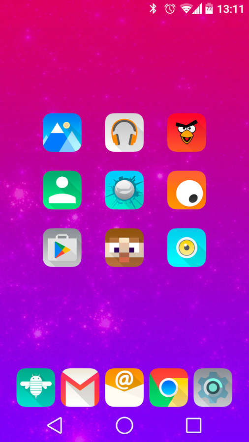 Aurora UI Square - Icon Pack » Apk Thing - Android Apps Free