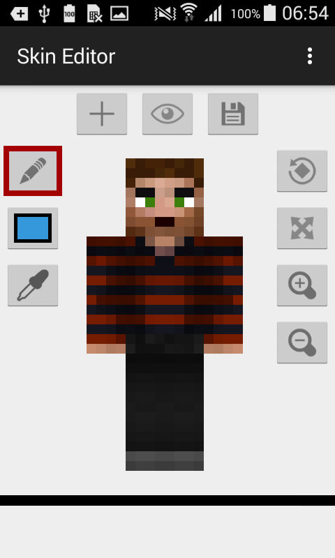 Skin Editor For Minecraft Apk Thing Android Apps Free Download - Skins para minecraft pe para download