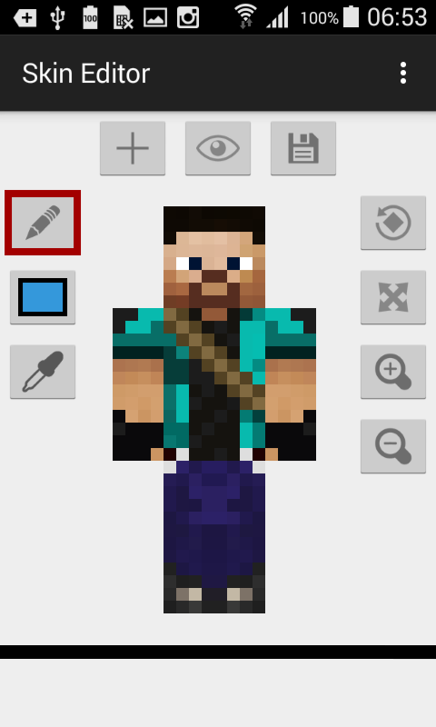 Skin Editor For Minecraft 187 Apk Thing Android Apps Free