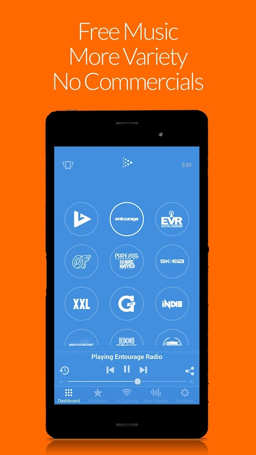 Dash Radio Free Music No Ads Apk Thing Android Apps