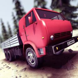 Truck Driver steep road