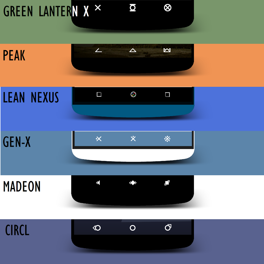 how to change android navigation bar to pixels for free