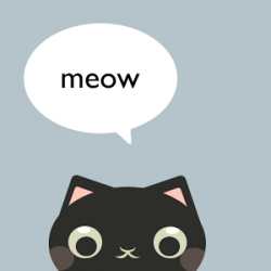Cute Cat Widget For Zooper