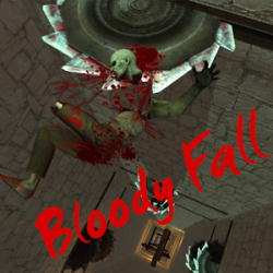 Bloody Fall - Zombie Dismount
