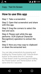 Copy - Text On Screen pro