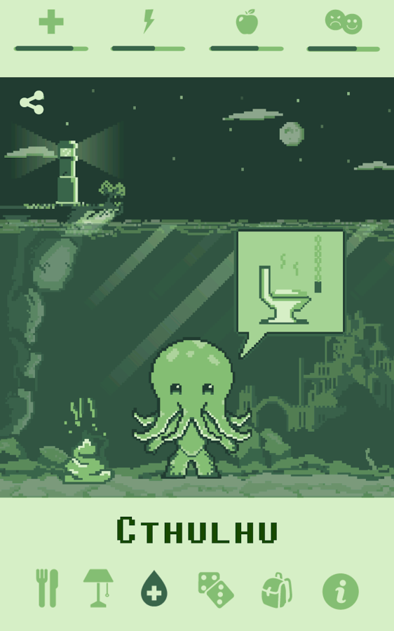 Cthulhu Virtual Pet » Apk Thing