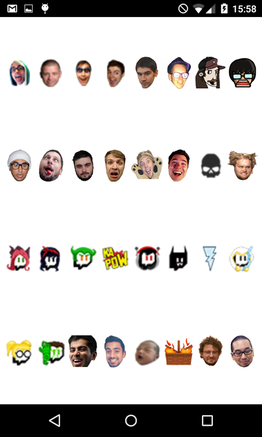 Global Twitch Emotes » Apk Thing - Android Apps Free Download