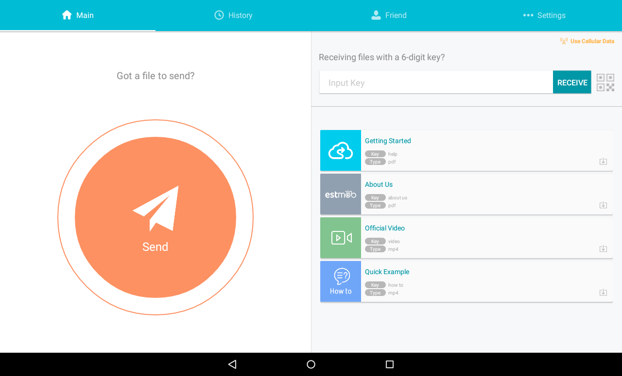 send anywhere (file transfer) apk download