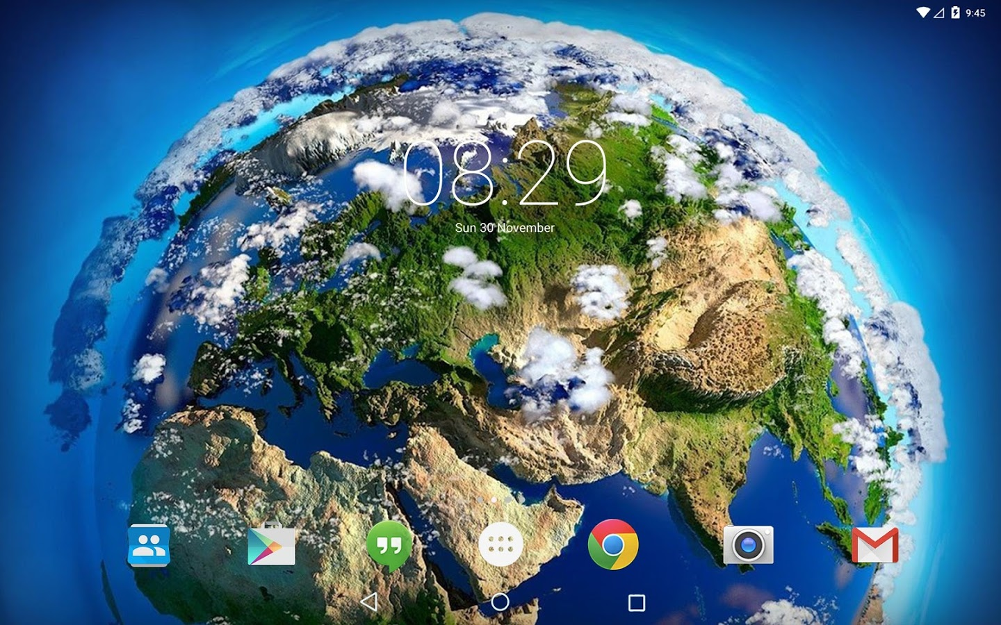 Space Clouds 3D live wallpaper » Apk Thing - Android Apps ...