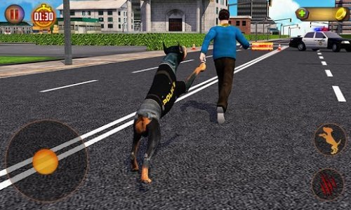 Police Dog Simulator 3D