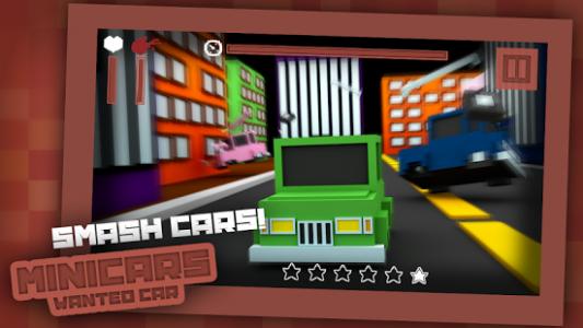 Mini Cars: Wanted Car