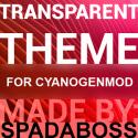 Transparent Red - CM13 Theme