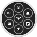 Bits Watch Face
