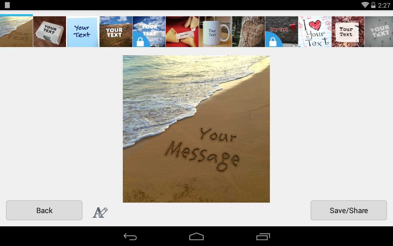Imagechef mix text, photos and stickers into collages and video.