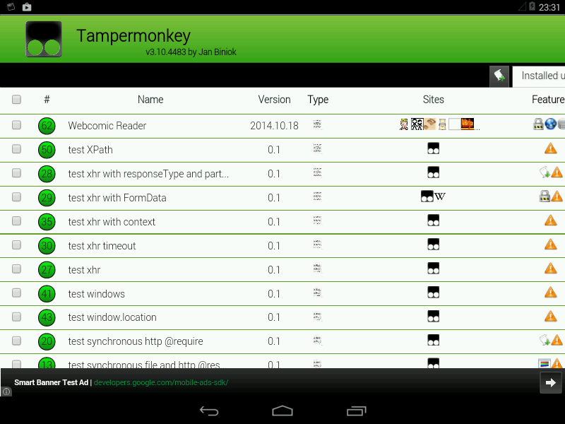 Tampermonkey Dolphin » Apk Thing - Android Apps Free Download
