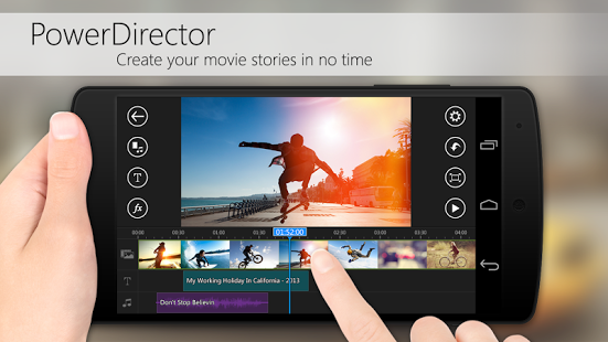 Powerdirector Video Editor App 187 Apk Thing Android Apps