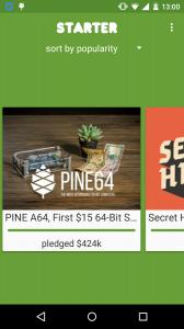 Starter for Kickstarter
