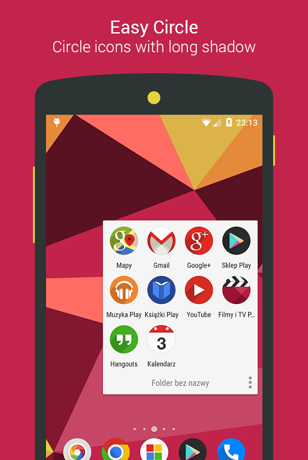 Easy Circle - icon pack » Apk Thing - Android Apps Free Download