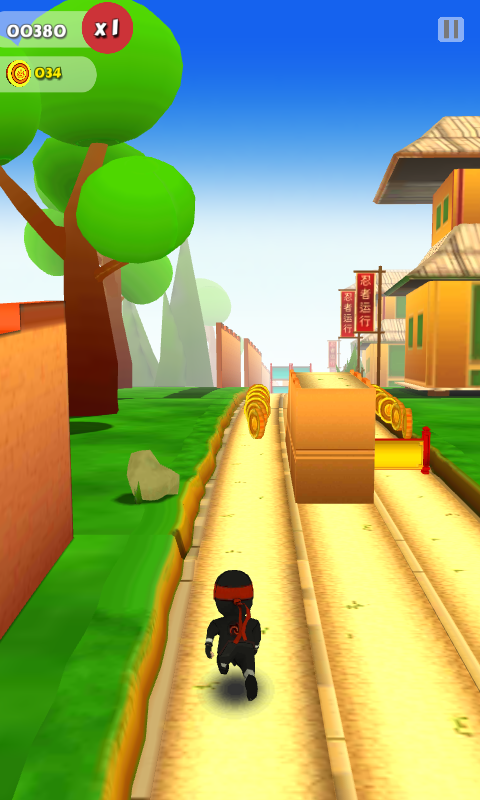 Ninja runner 3d for android download apk free.