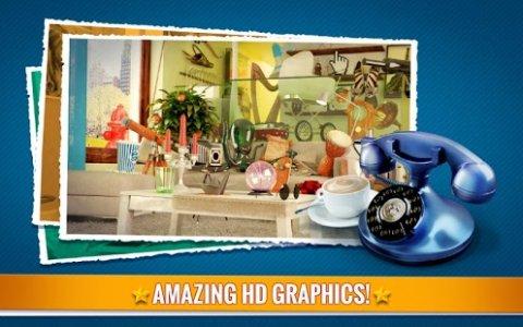 Hidden Objects Living Room