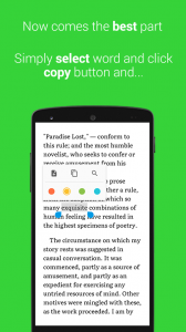 onTouch Dictionary : Pop up