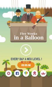 5 Weeks in a Balloon - Premium