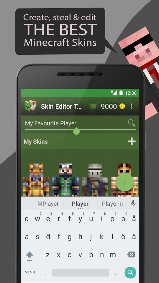 Skin Editor Tool For Minecraft Apk Thing Android Apps Free Download - Skins para minecraft 1 8