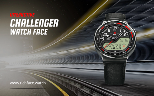 Challenger Watch Face » Apk Thing - Android Apps Free Download