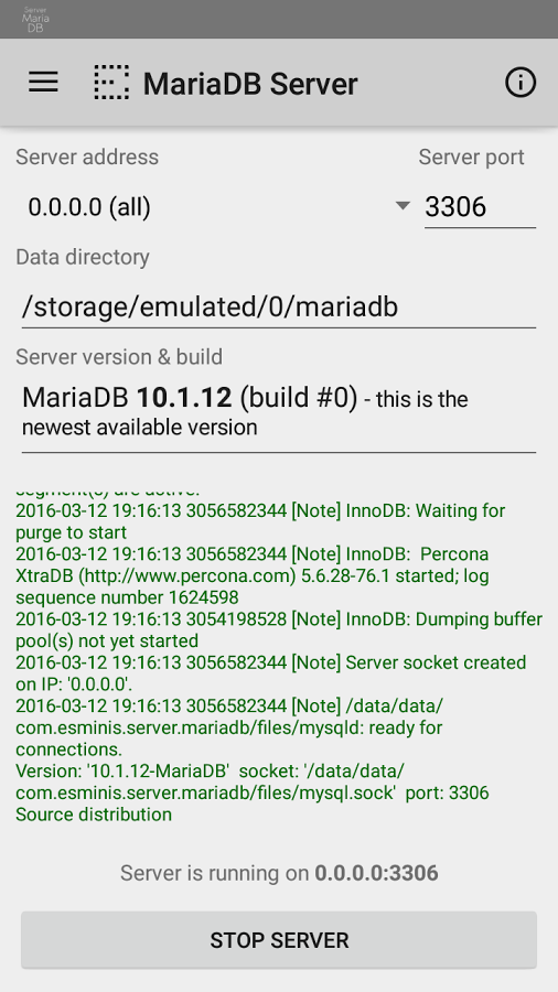 MariaDB Server » Apk Thing - Android Apps Free Download