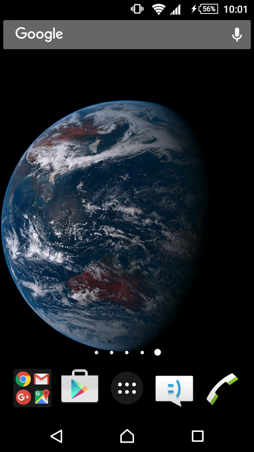 Real Earth Live Wallpaper » Apk Thing - Android Apps Free Download