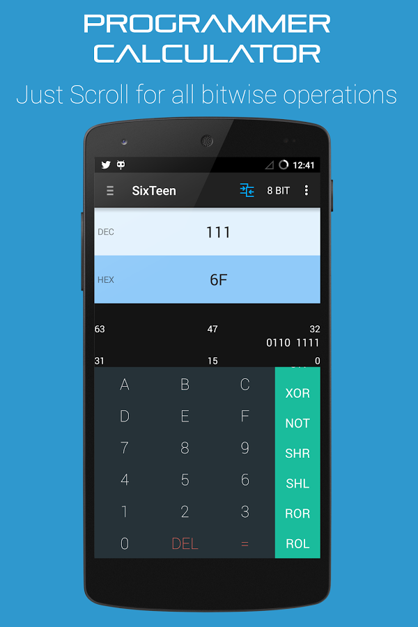 Binary numbers calculator free download
