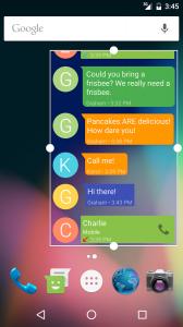 All Messages Widget