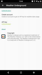 WU CM Weather Provider