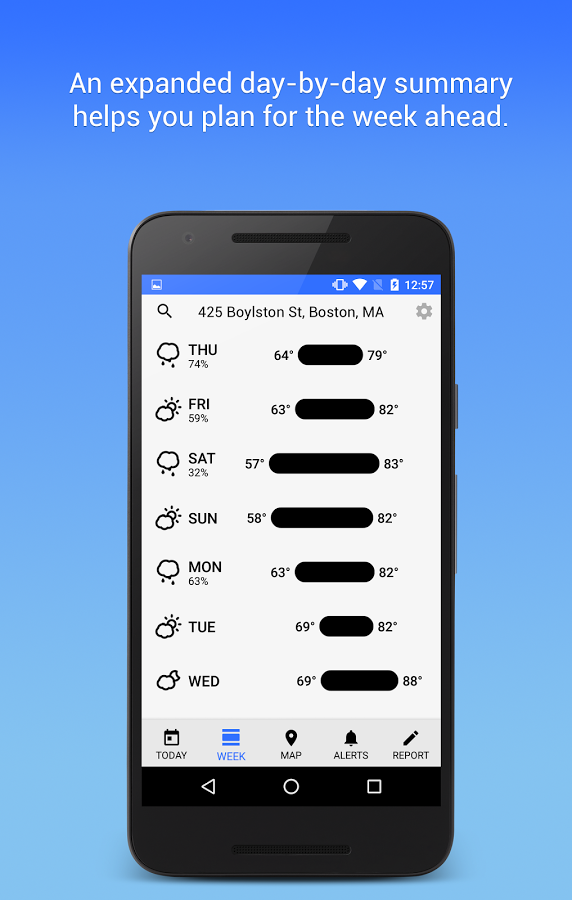 Dark Sky - Hyperlocal Weather » Apk Thing - Android Apps