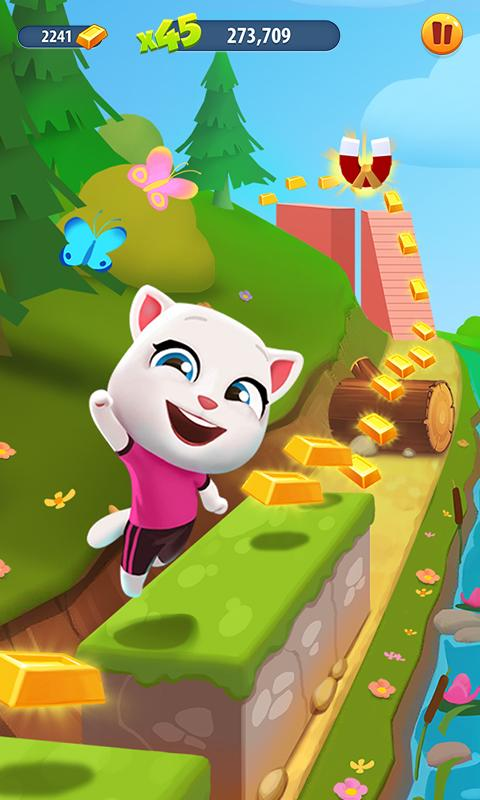 Talking tom: gold run for android download apk free.