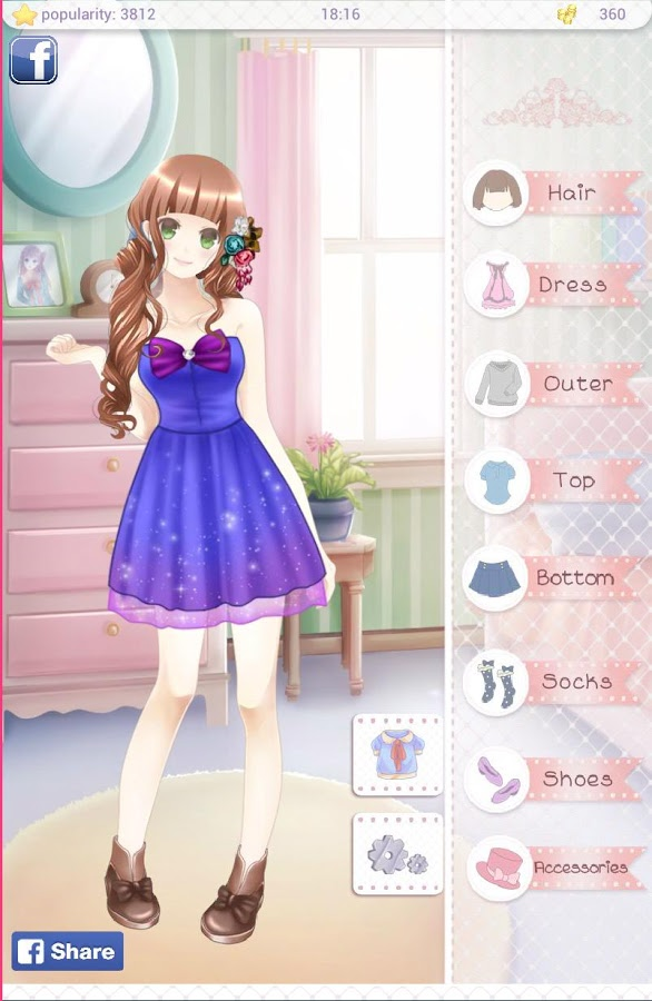 Gabbyu0026#39;s Diary - Anime Dress Up u00bb Apk Thing - Android Apps Free Download