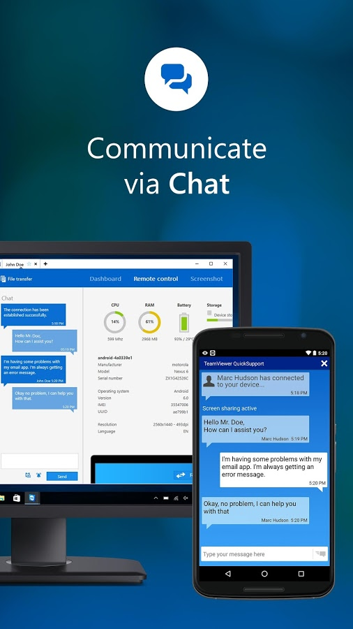 TeamViewer QuickSupport » Apk Thing - Android Apps Free Download