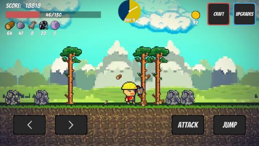 Pixel Survival Game