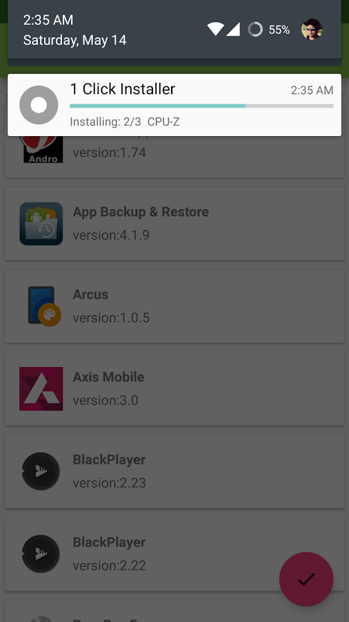 One Click Apk Installer [ROOT] » Apk Thing