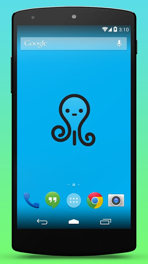 Cute Octopus Live Wallpaper » Apk Thing - Android Apps Free